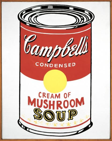 Soup Can (Cream of Mushroom)