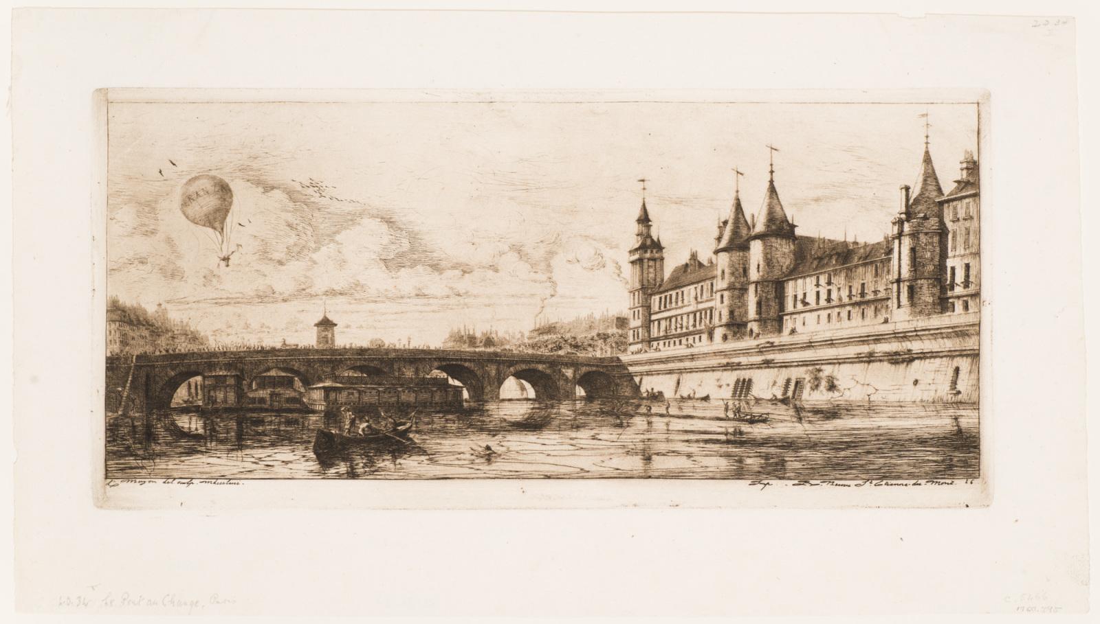 The Exchange Bridge, Paris