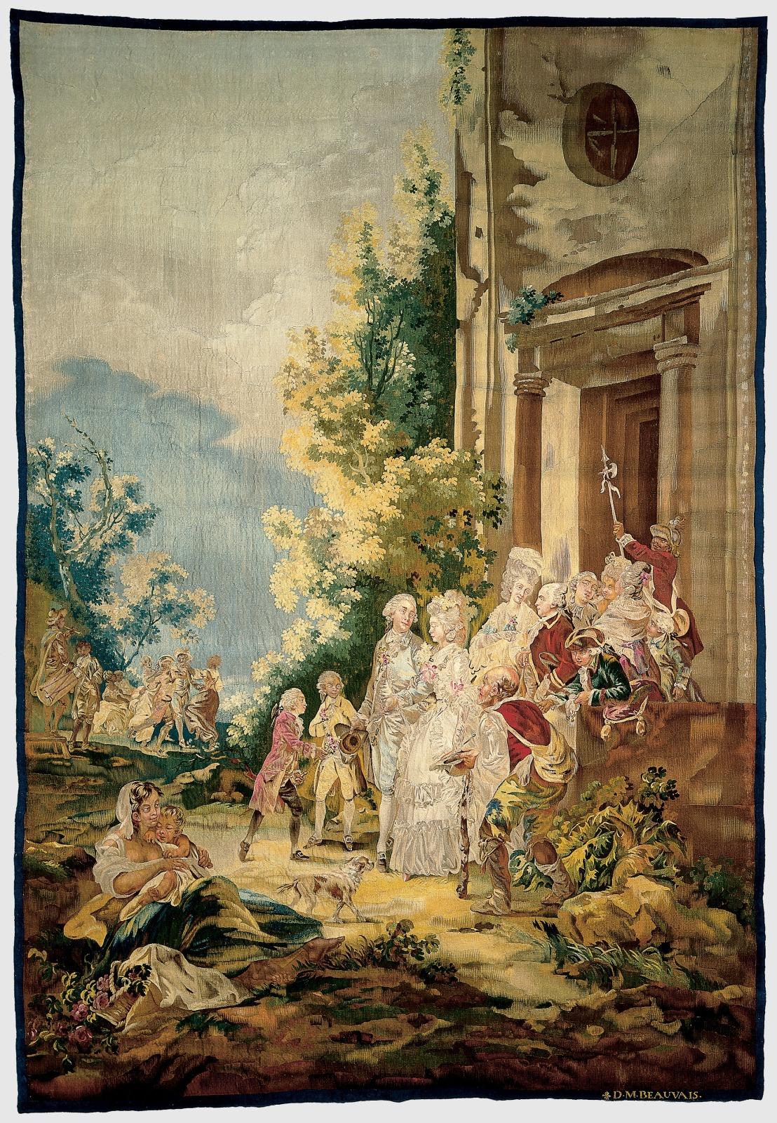 Les Quatre Ages: La Promenade (The Four Ages: The Marriage of Antoinette De Bertier De Sauvigny to the Marquis De La Bourdonnaye)