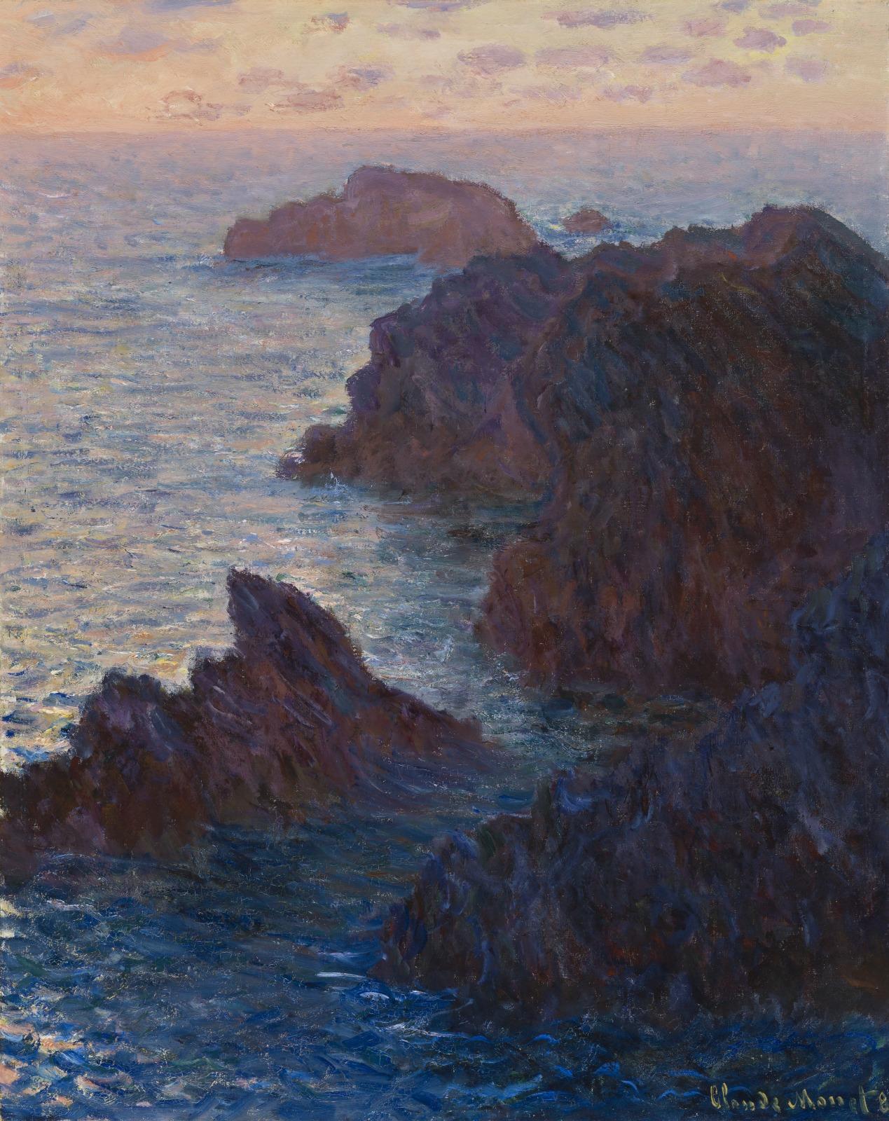 Rocks at Belle-Île, Port-Domois