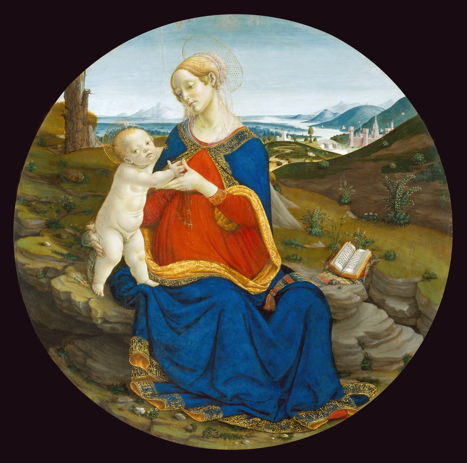Madonna and Child with a Breviary