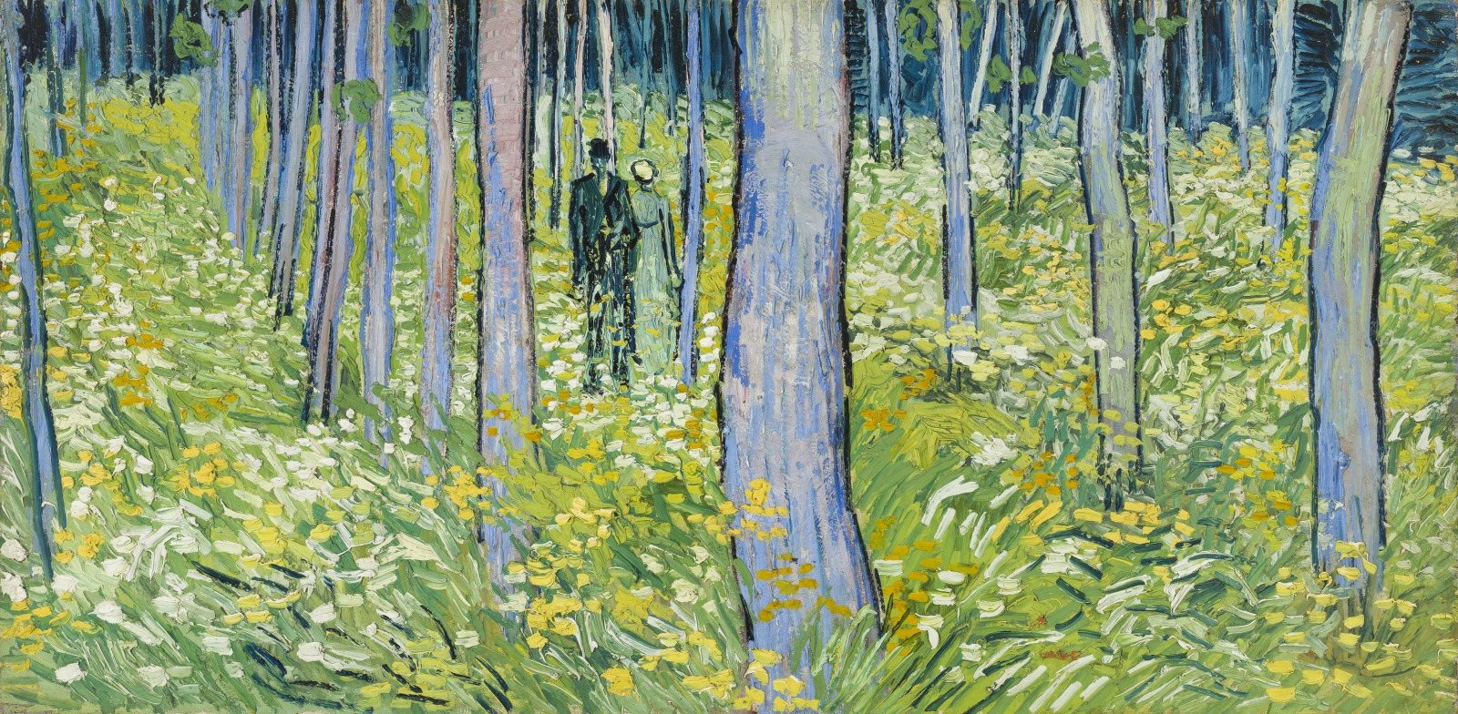 Undergrowth with Two Figures