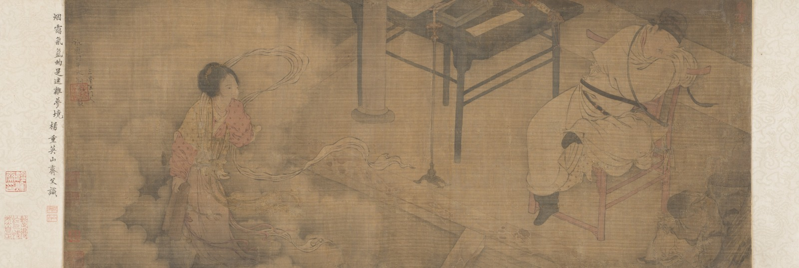 Handscroll: Sima Caizhong's Dream of the Courtesan, Su Xiaoxiao