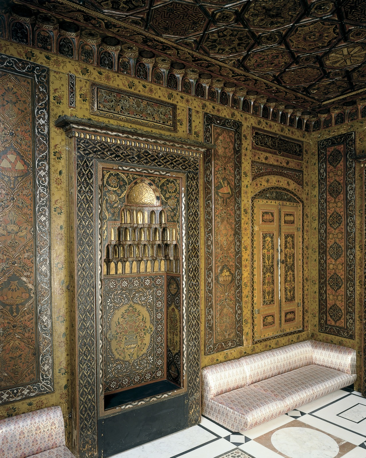 Period Room from Damascus