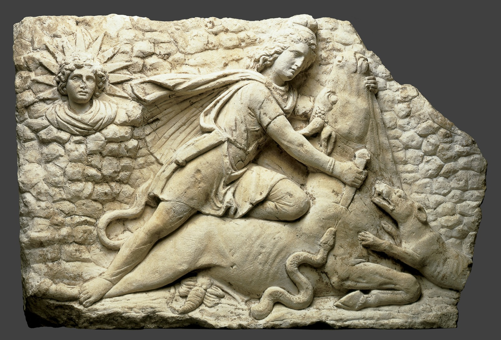 Mithraic Relief with Bull