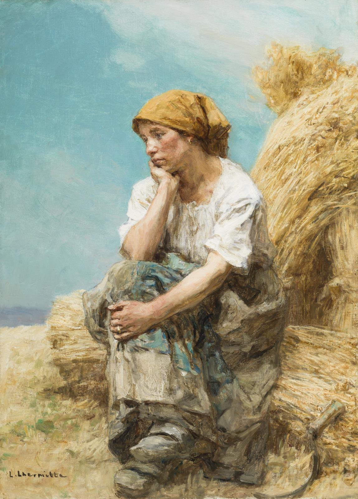 Peasant Woman Resting