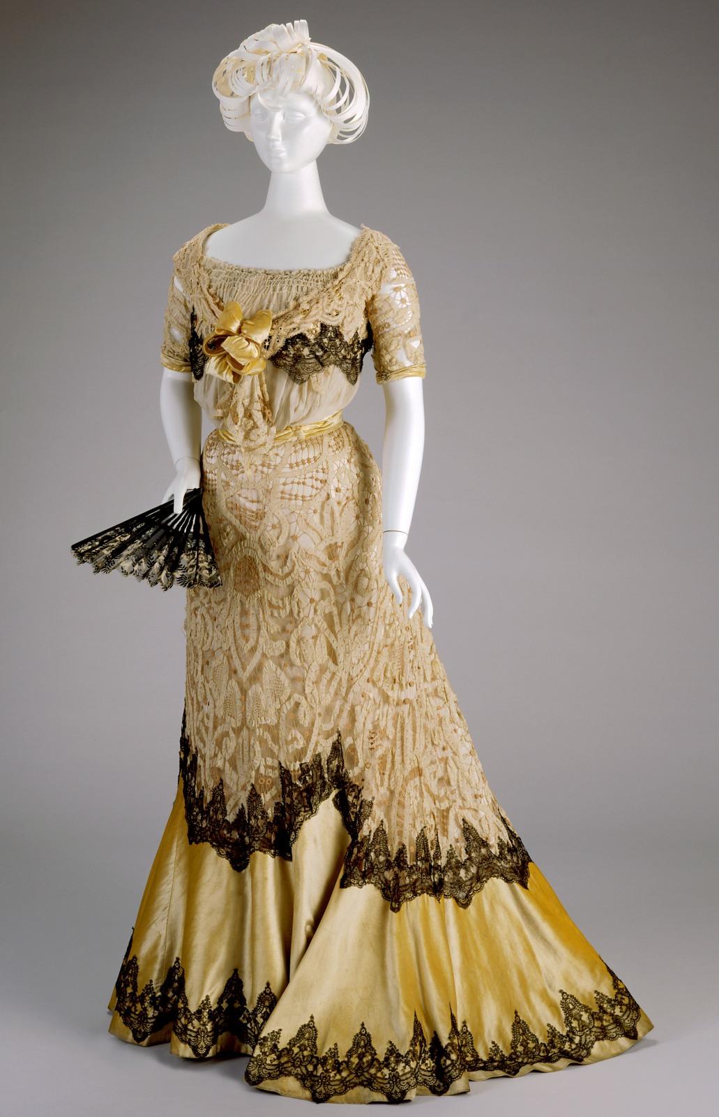 Evening Dress: Bodice and Skirt
