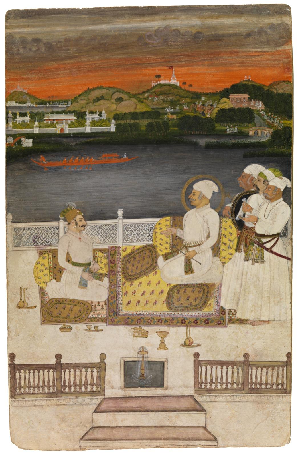 Maharaja Sawant Singh of Kishangarh Addresses His Son, Sardar Singh