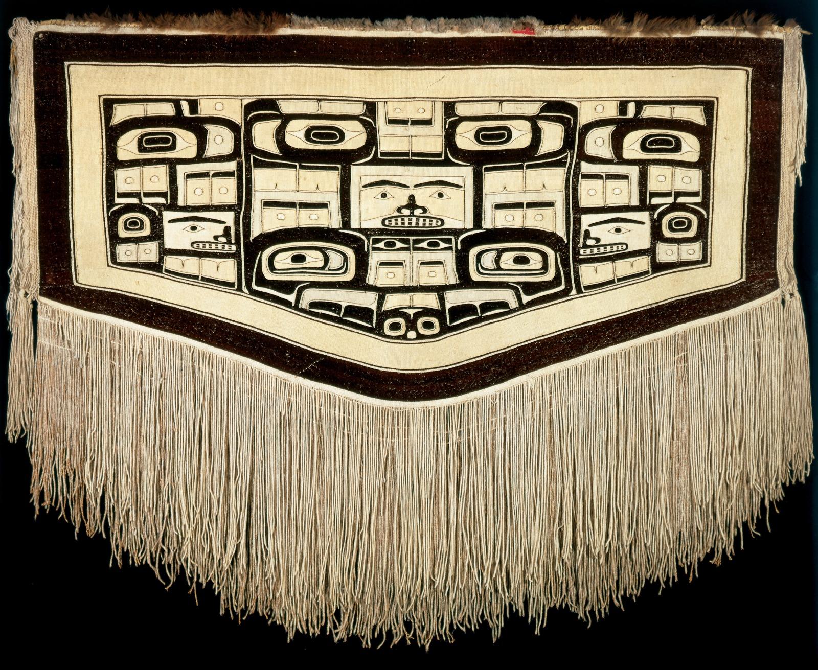 Chilkat Ceremonial Dance Blanket