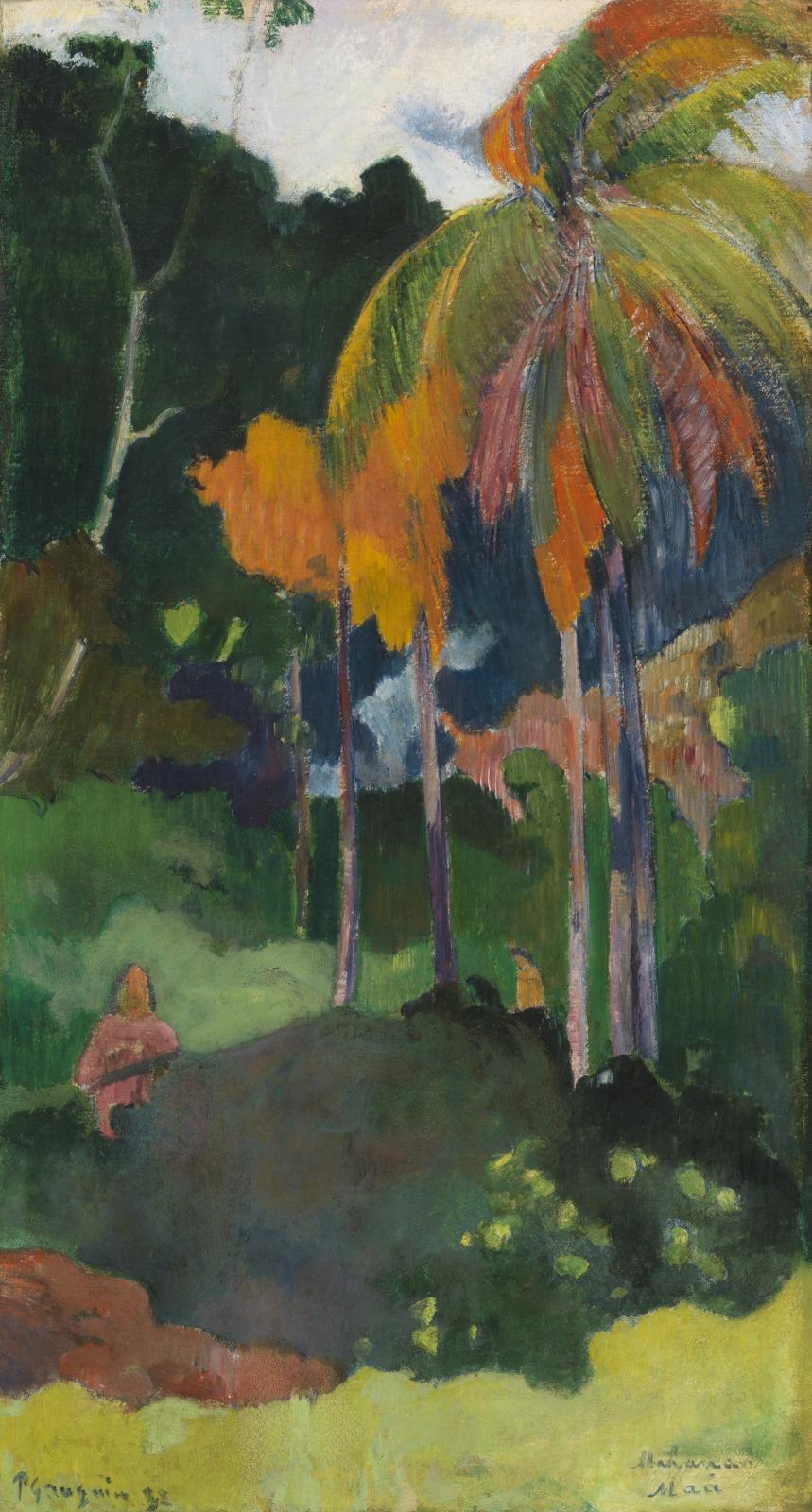 Paul Gauguin, The Moment of Truth (Mahana Ma'a), 1892, Cincinnati Art Museum, Cincinnati, OH, USA.