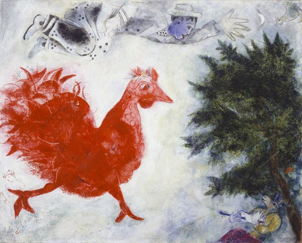 The Red Rooster (Le Coq rouge)