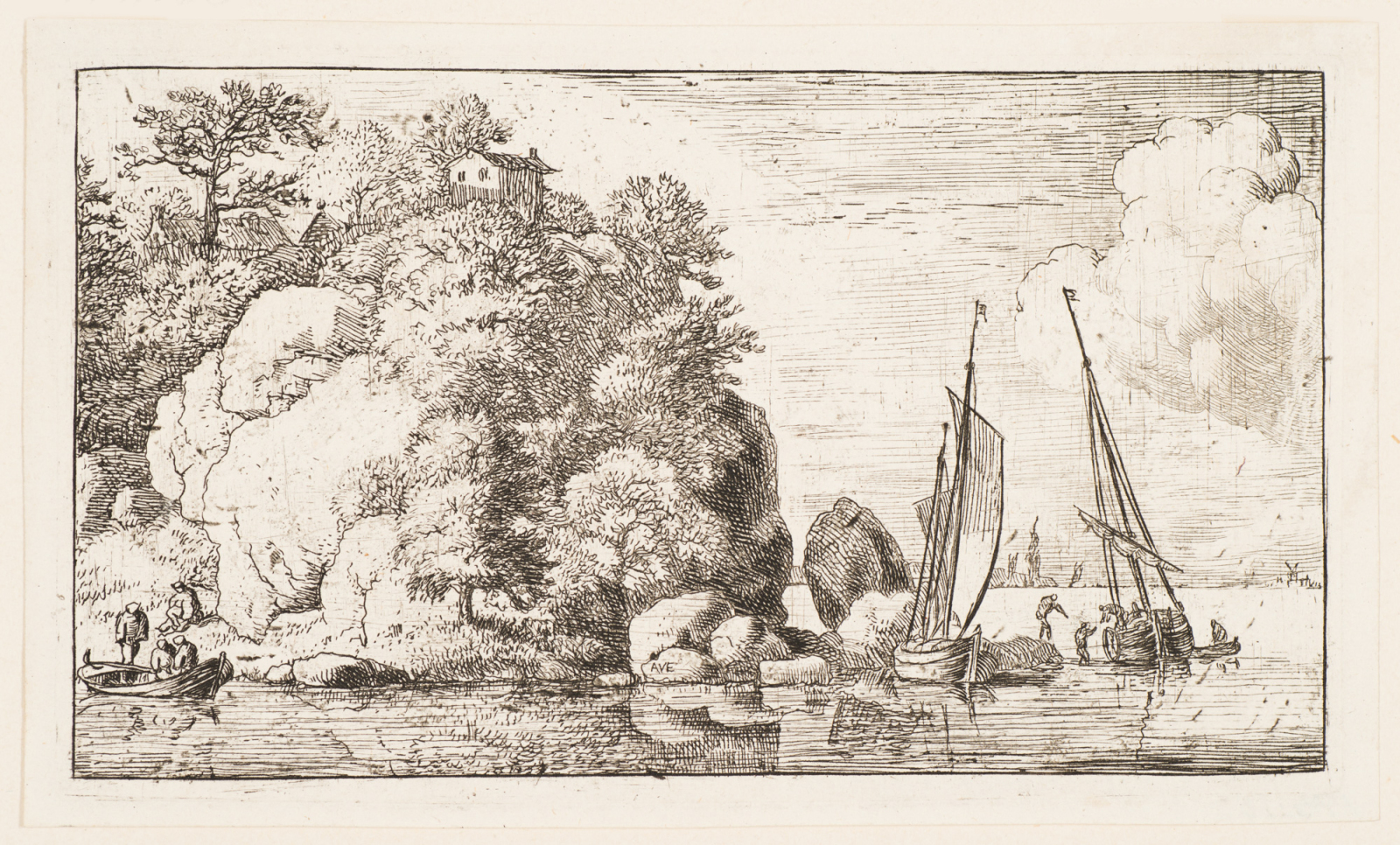 The Two Boats on the River