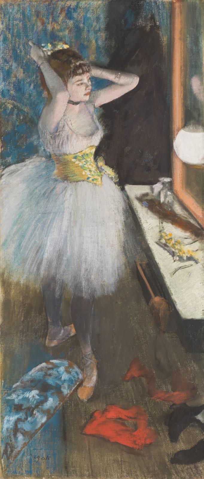 Dancer in Her Dressing Room (Danseuse dans sa loge)