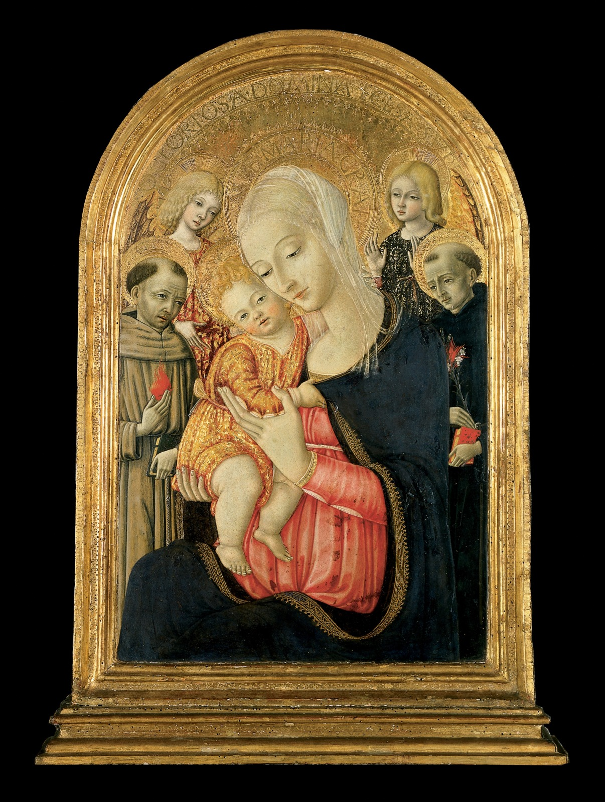 Madonna and Child with Saint Anthony of Padua and Saint Nicholas of Tolentino