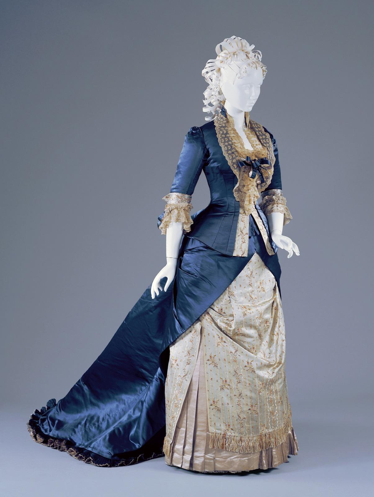 Reception Dress: Day Bodice, Evening Bodice and Skirt