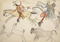 Big Bow, a Kiowa, Goes into Mexico