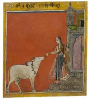 Ragini Bhairavi: Lady with a Bull