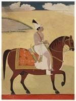 Prince Dalil Singh of Jammu Riding