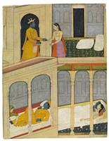 The Lovers Radha and Krishna