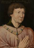 Copy of Portrait of Charles the Bold, 4th Duke of Burgundy