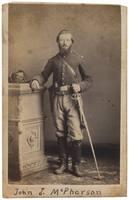 Private John J. McPherson, Fifth Ohio Cavalry