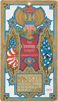 Calendar Card / July 1901