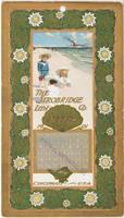 Calendar Card / August 1901